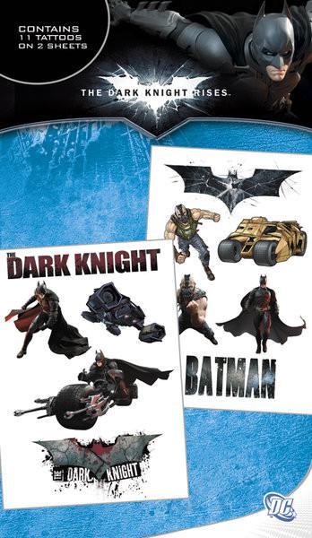 BATMAN DARK KNIGHT RISES Tattoo