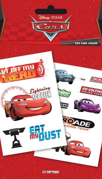 CARS - characters & sponsors Tattoo