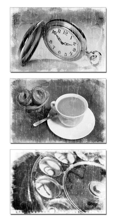 Black & White Abstract Taulusarja