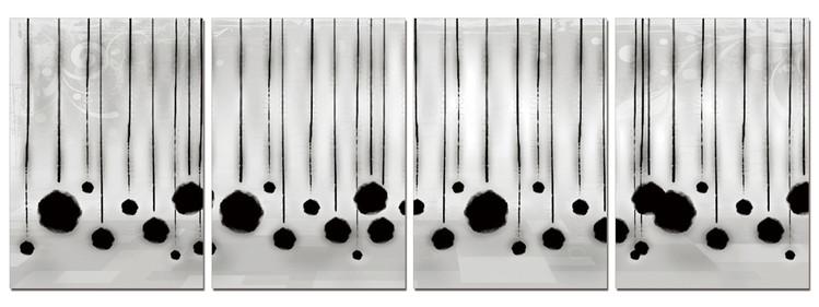 Modern Design - Hanging Balls Taulusarja