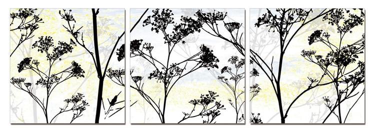 Wild Flower Silhouette Taulusarja