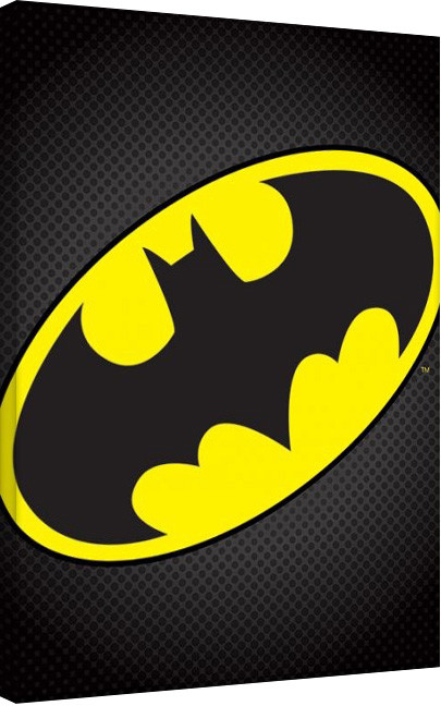 Tela Batman - Logo