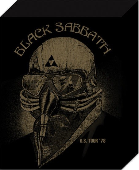 Tela Black Sabbath - US Tour 78
