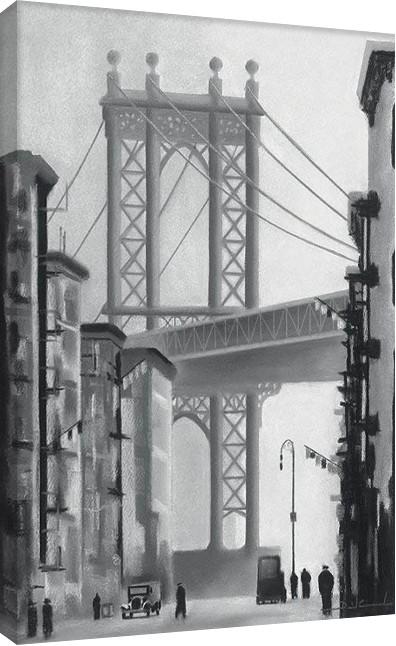 Tela David Cowden - Manhattan Morning