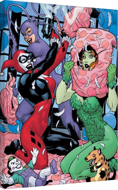 Tela DC Comics - Slumber Party
