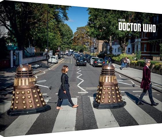 Tela Doctor Who - Abbey Road