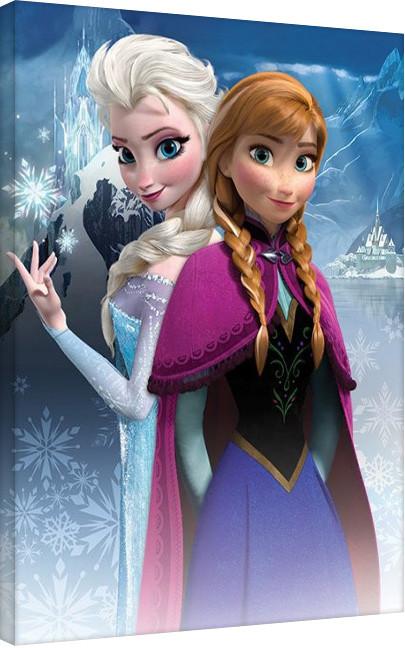 Tela Frozen - Anna & Elsa