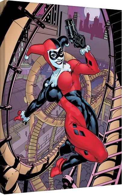 Tela Harley Quinn - Rollercoaster