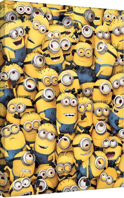 Tela Minions (Despicable Me) - many minions