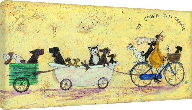 Tela Sam Toft - The doggie taxi service