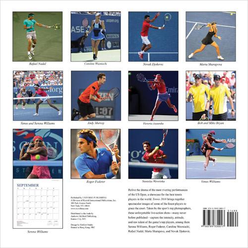 Calendrier Tennis 2022 Tennis   Wall Calendars 2022   Large selection