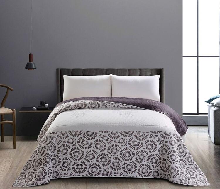 Bedcover - My Deer Friend Steel Textile