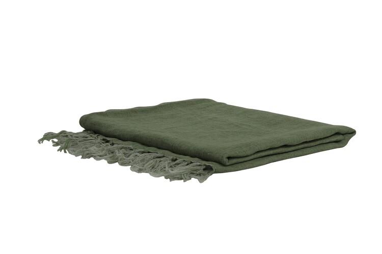 Blanket Medi - Green Textile