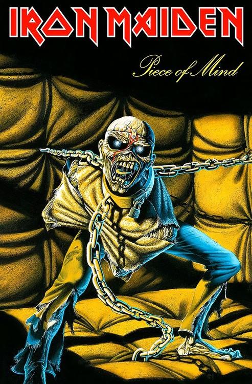 Textile poster Iron Maiden – Piece Of Mind