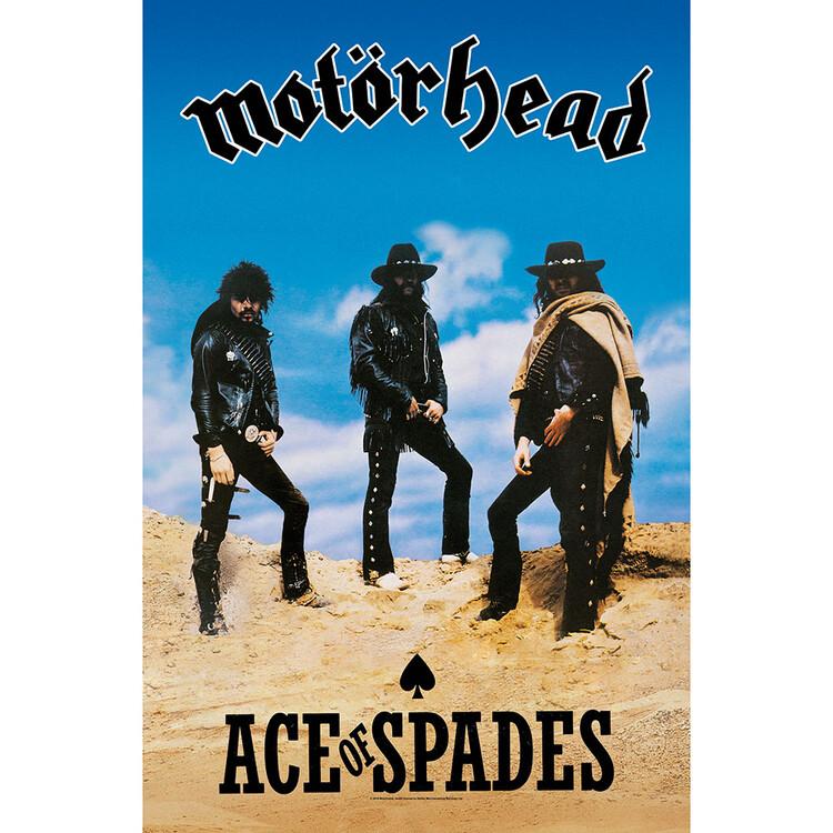 Textile poster Motorhead - Ace Of Spades