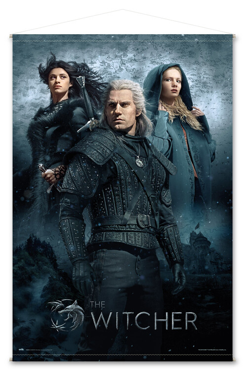 Textile poster The Witcher