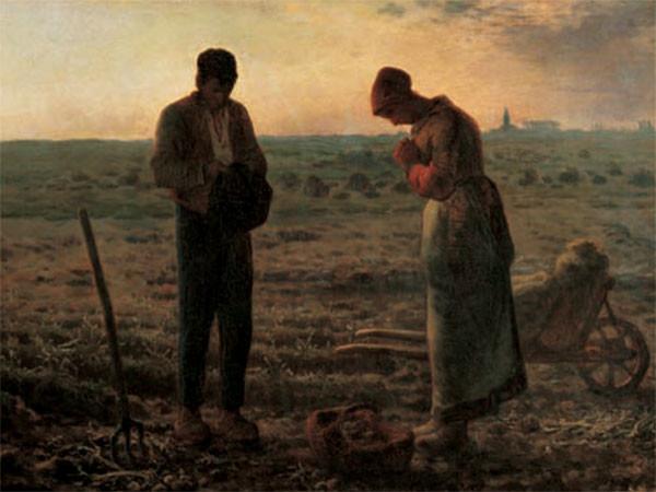 The Angelus - L'angelus Reproduction d'art