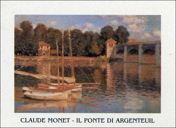 The Argenteuil Bridge, 1874 Reproduction d'art