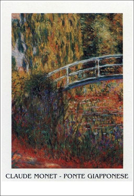 The Japanese Bridge - The Japanese Footbridge, 1899 Reproduction d'art