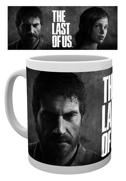 Cup The Last of Us - Black And White