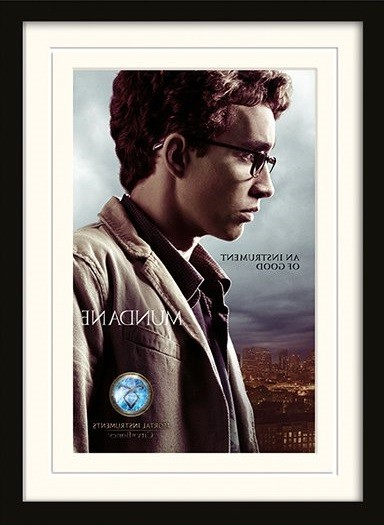 THE MORTAL INSTRUMENTS CITY OF BONES – simon plastic frame