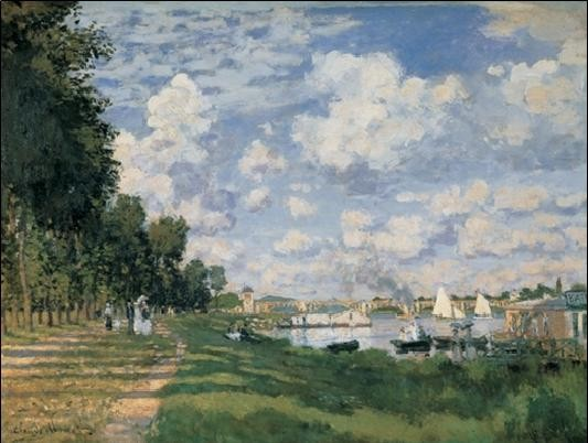 The Seine Basin at Argenteuil Reproduction d'art
