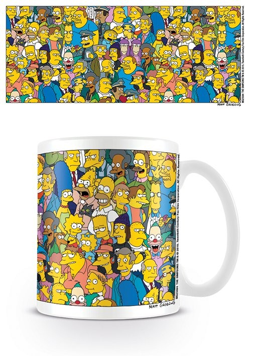 Cup The Simpsons - Characters