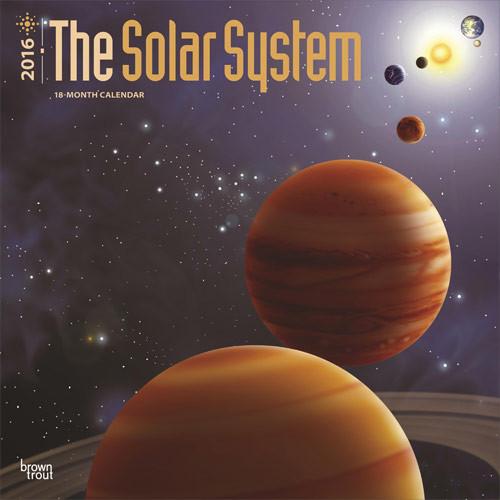 Solar Calendar 2022.The Solar System Wall Calendars 2022 Large Selection