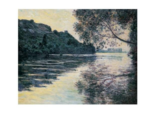 The Sun on The Seine Reproduction d'art