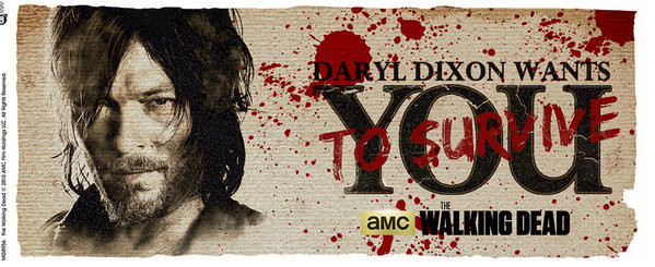 Cup The Walking Dead - Daryl Needs You