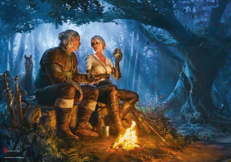 Puzzle The Witcher - Journey of Ciri