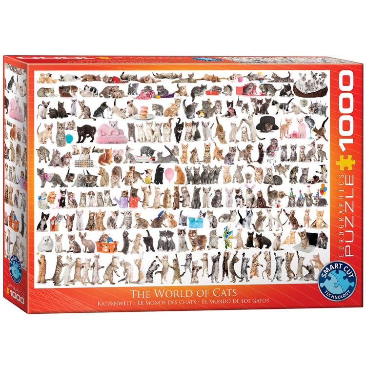 Puzzle The World of Cats