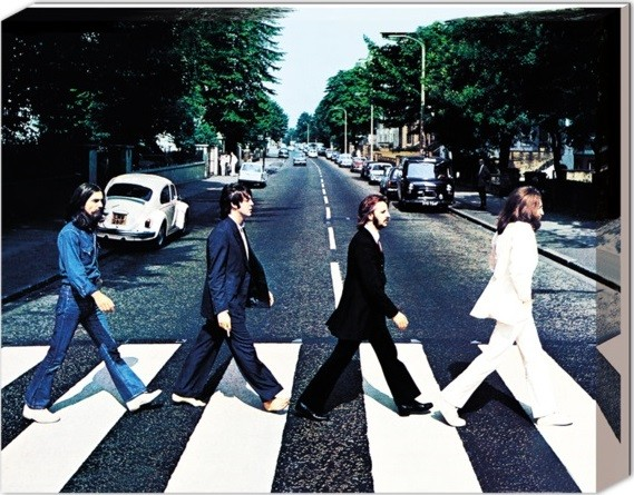Beatles - Abbey road Toile