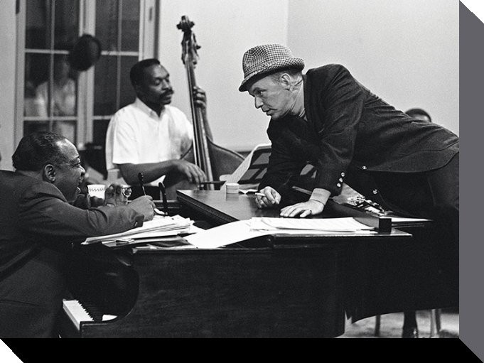 Frank Sinatra - piano Toile