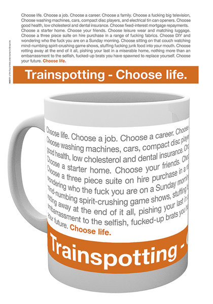 Cup Trainspotting - Quote