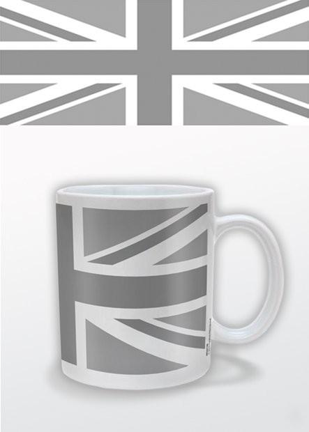 Cup Union Jack (B&W)