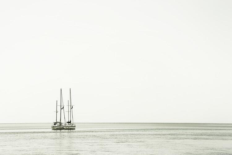 Valokuvatapetti At sea | Vintage