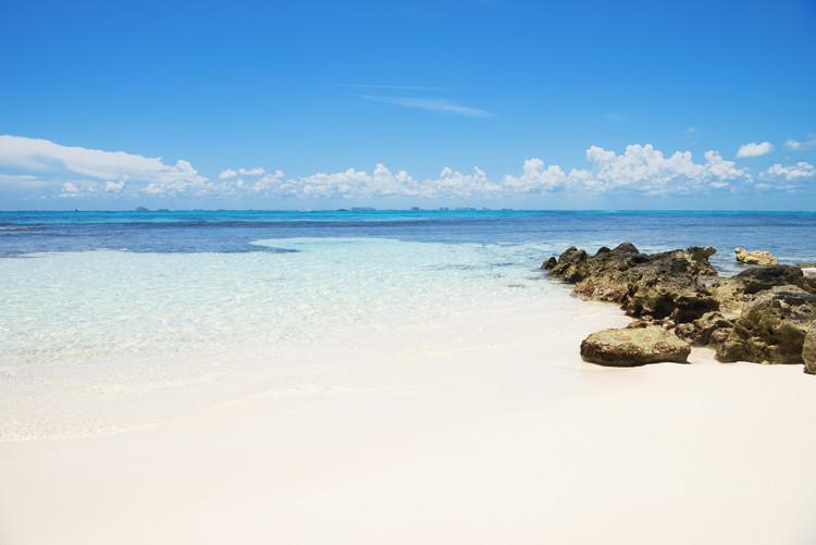 Valokuvatapetti Caribbean Sea - Isla Mujeres