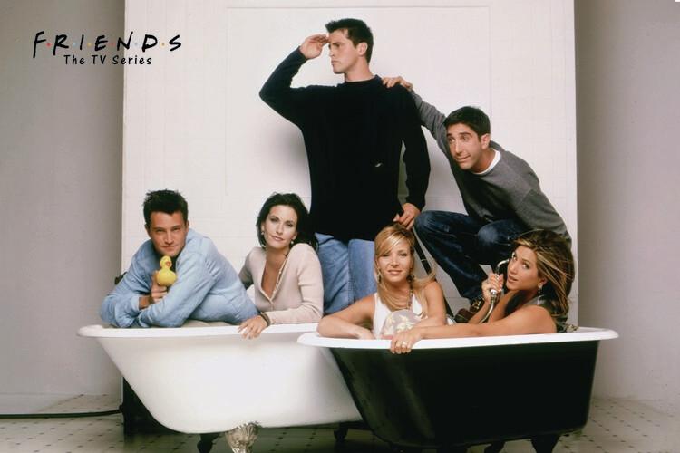 Valokuvatapetti Friends - Bath