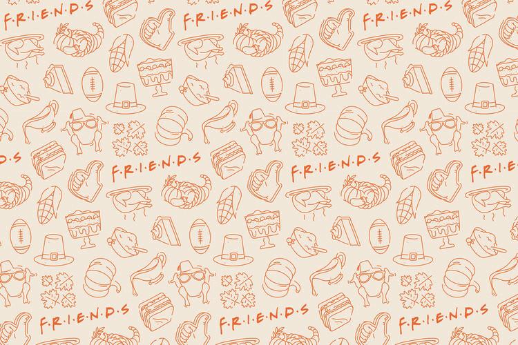 Valokuvatapetti Friends - Food