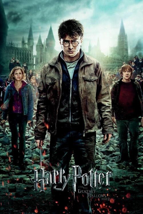 Valokuvatapetti Harry Potter - Kuoleman varjelukset