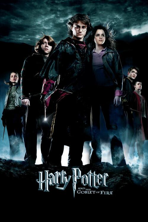 Valokuvatapetti Harry Potter - Liekehtivä pikari
