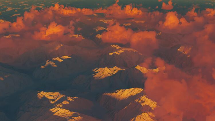 Valokuvatapetti Hyper Real Landscapes series 1