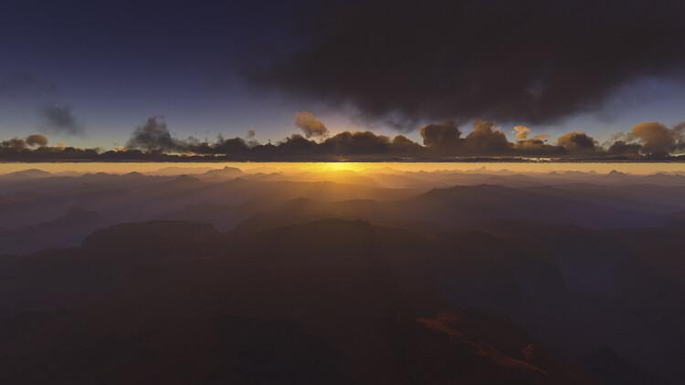 Valokuvatapetti Hyper Real Landscapes series 3