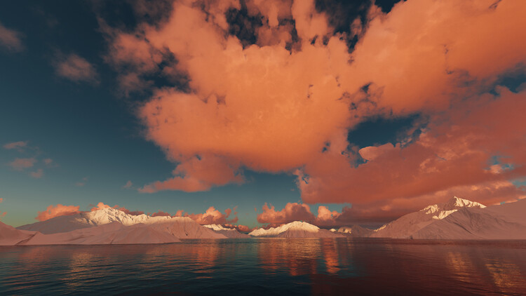 Valokuvatapetti Hyper Real Landscapes series 4