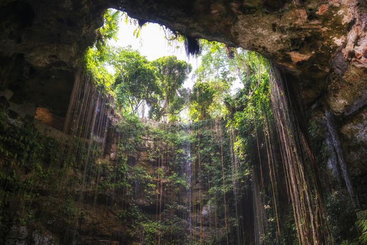 Valokuvatapetti Ik-Kil Cenote