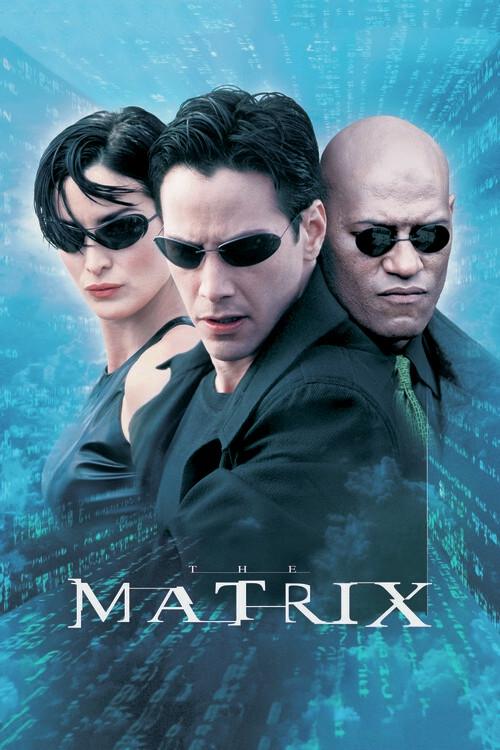 Valokuvatapetti Matrix - Neo, Trinity ja Morpheus