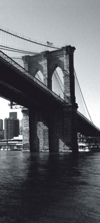 Valokuvatapetti New York - Brooklyn Bridge