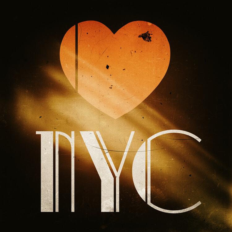 Valokuvatapetti NYC Love