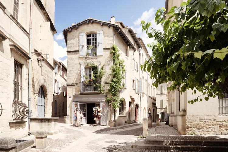 Valokuvatapetti Provencal Street in Uzès